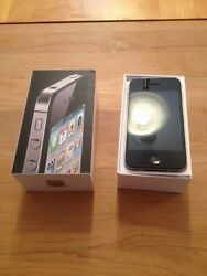 Apple Iphone 4 - 8gb - Black Sprint Clean Esn Brand New With Lifeproof Case