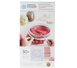 Martha Stewart Knit And Weave Loom Kit Multiple Configurations