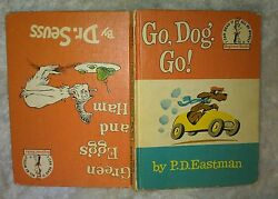 Go Dog. Go!-PD Eastman and Green Eggs and Ham-HC