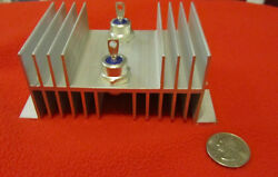 Blocking Diode And Heat Sink Dual 80 Amp For Solar Panels, Wind Turbine