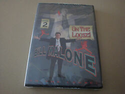 Bill Malone On The Loose 2 Dvd Magic Card Tricks Illusion Close Up Stage Hobby