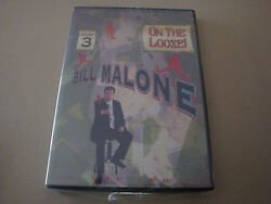 Bill Malone On The Loose 3 Dvd Magic Card Tricks Illusion Close Up Stage Hobby