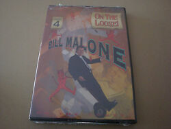 Bill Malone On The Loose 4 Dvd Magic Card Tricks Illusion Close Up Stage Hobby