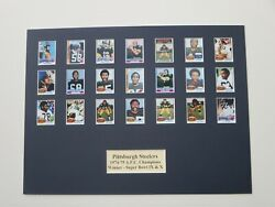 Pittsburgh Steelers - 1974-75 Afc Champions And Super Bowl Ix And X Champions