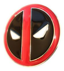 Comic Collectible Deadpool Belt Buckle Full Metal Hq New Cosplay Or Just Wear