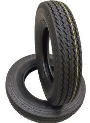 2 Two 530-12 5.30-12 8 Ply Rated Load D 8 Ply Rated Boat Trailer Service Tires