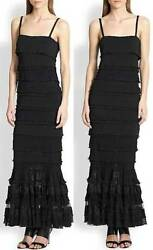 Crazy Sexy Sold Out Nwt Hour Glass Figure Jean Paul Gaultier Tiered Dress
