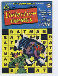 Detective Comics 142 Dc Pub Canadian Edition 2nd Appearance Riddler