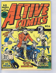 Active Comics #6  Bell Features CANADIAN EDITION