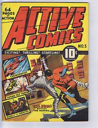 Active Comics #3  Bell Features CANADIAN EDITION