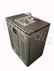 Portable Sink Mobile Hot And Cold Water Self Contained Original Univedis