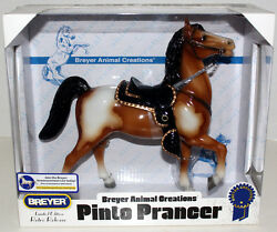BREYER PINTO PRANCER LIMITED EDITION RETRO RELEASE PONY HORSE MINT IN BOX.