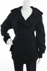 Sold Out Nwt 2290 Double Breasted Navy Giacca Jacket By Marni