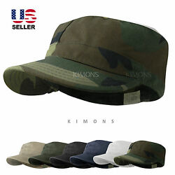 BDU Fitted Army Cadet Military Cap Hat Patrol Castro Combat Hunting