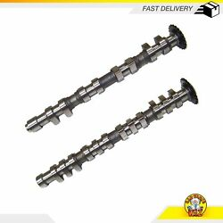 Intake And Exhaust Camshafts Fits 97-06 Audi Volkswagen 1.8l Turbo Dohc