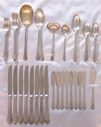 Set 60pcs Holmes And Edwards Silverplate Flatware Spring Garden 1949 Spoon Fork