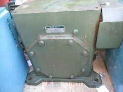 Ohio/gear Gear Reducer Size T600- 60-1 With Base And External Fan