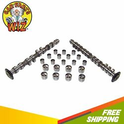 Intake And Exhaust Camshafts With Lifters Fits 97-06 Audi Vw 1.8l Dohc 20v Turbo