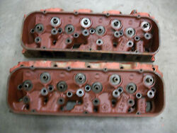 1967 Corvette 3904391 Cylinder Heads Dated G-9-6