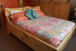 Kingsley Style Custom Made In Vermont Hardwood King Bed, Solid Wood, Delivery