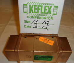 Keflex 7q Compensator 1-1/2 Npt 300psi Max Pipe Fitting Expansion Joint New