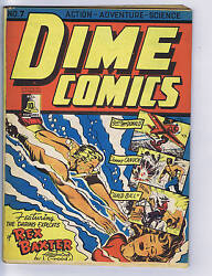 Dime Comics 7 Bell Features Canadian Edition Johnny Canuck, Rex Baxter