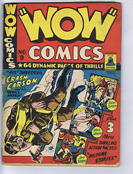 Wow Comics 9 Bell Features Pub. Rare Canadian Edition