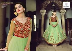 Designer Fabulous Hot New Heavy Embroidered Amazing Party Wear Anarkali Outfit