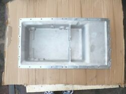 K19 Marine Oil Pan - Casted Aluminum + Cover And Accessories