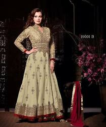 Hot New Designer Fabulous Heavy Embroidered Amazing Party Wear Anarkali Suit