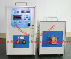 340-430V  70KW 30-80KHZ High frequency induction heater furnace melting furnace