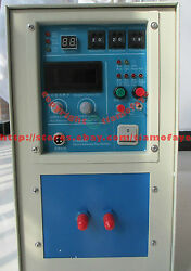 25KW 30-80KHz HIGH Frequency Induction Heater Heating Melting Furnace