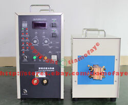 340-430V 30KW 30-80KHZ High frequency induction heater furnace melting furnace