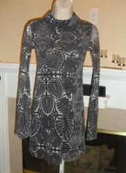 Nwt Jean Paul Gaultier Mesh Top/tunic Matching Leggings Listed Separately