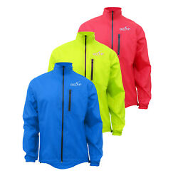 Menand039s Water/ Wind Proof Cycling Running Outdoor Jacket Lightweight Reflective