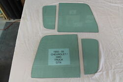 Glass 1955 1956 1957 1958 1959 Chevrolet/gmc Pick Up Truck Tinted Glass