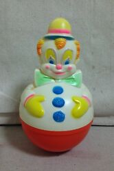 Vintage 1977 Sanitoy Baby Chime - Roly Poly - Musical Play Toy