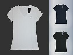 Tommy Hilfiger Women V neck short sleeve T shirt all size new with tags $19.80