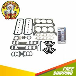 Head Gasket Set Bolts Fits 89-93 Ford Taurus Lincoln Mercury Sable 3.8l Ohv