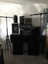 Pa Speakers Power Amp Floor Monitor Powered Mixer Par 56and039s Lighting And More.