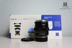 Brand New Carl Zeiss Zm Distagon T 35mm F/1.4 Lens - Black For Leica M Mount