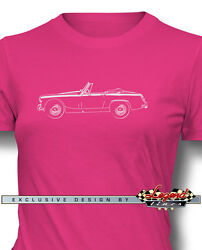 Austin Healey Sprite Mkii Mkiii Roadster T-shirt For Women Multiple Colors Sizes