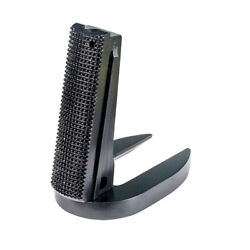 1911 Mainspring Housing + Mag-well - Government Checkered Black