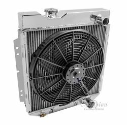 3 Row Radex Radiator And Fan Combo For 60-66 Ford