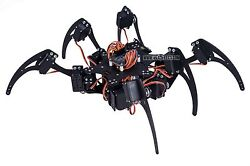 Spider Robot Set 18 Dof With Servo, Arduino Controllable, Ship From Usa