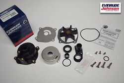 New Oem Johnson Evinrude Outboard Water Pump Kit 395073 85-235hp Brp/omc