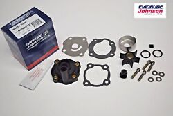 New Oem Johnson Evinrude Outboard Water Pump Kit 395270 25hp Brp/omc