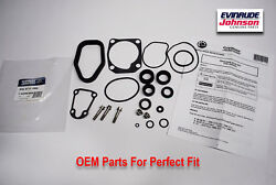 New Oem Johnson Evinrude Outboard Gearcase Seal Kit 40-75hp 396355
