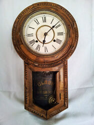 Collectibles Antique Wall Clock Pre 1930 Made In Japan