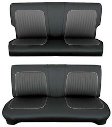 64 Falcon Futura 4 Door Station Wagon Full Upholstery Set, Leather, Choose Color